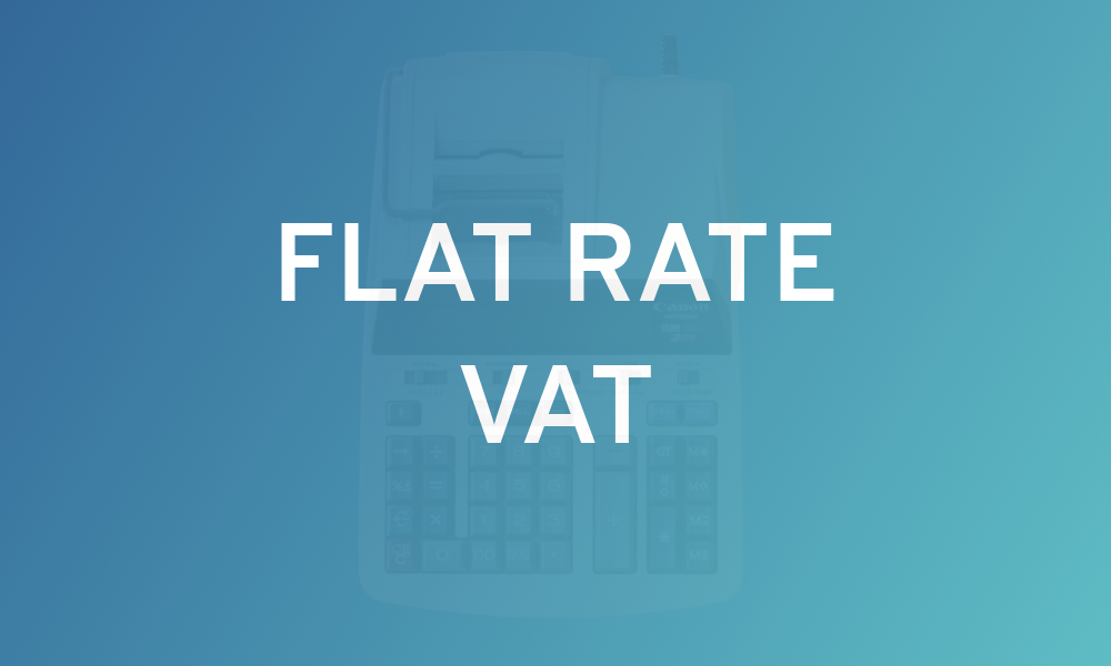 Flat Rate VAT - Accounting Implications